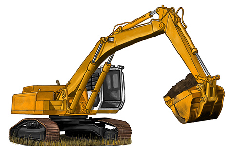 建設機械の販売
